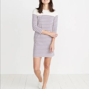 Marine Layer April Dress - red and blue striped